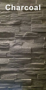 "Kinslate ""Charcoal"" Stone at Alberta Drywall (6030 50 Street)"