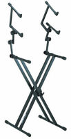 Triple Keyboard Stand * QUIKLOK QL-623* Heavy Duty