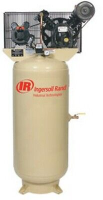 5HP 230/1 2340L5-V Two Stage Cast Iron Air Compressor IRR-2340L5-V230...