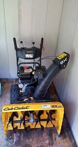 Brand New Cub Cadet Snowblower Only Used 3 Times