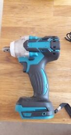 1/2 520Nm Brushless Torque Impact Wrench Corded Driver For Makita Battery UK