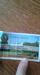 squire green corporate golf package