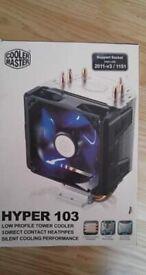 CPU Fan. Cooler Master Hyper 103. New in box