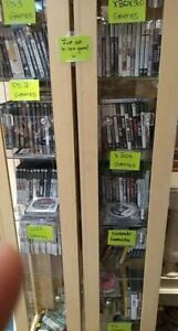 Video Games ( PS2, PS3, Xbox, XBox 360, Nintendo Game Cube, Wii)