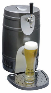 Koolatron KTB05BN 5-Liter Beer Keg Chiller
