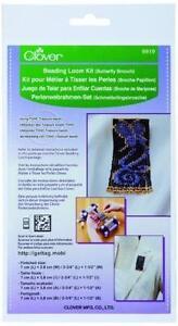 Clover 9919 Beading Loom Kit/Butterfly Brooch