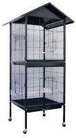 *NEW* Large Double Bird Cage with Removable Divider