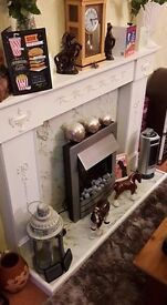 fire surround and fire