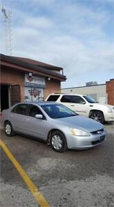 2003 Honda Accord Sdn LX-G!! 213KMS! 4CYL! AUTO! CERTIFIED!!