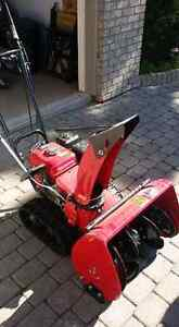 As New Honda Track Drive Snowblower