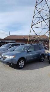 SOLD!2010 Subaru Forester XTouring! 5-speed MANUAL!! CERTIFIED!!