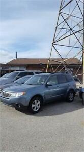 2010 Subaru Forester X Touring! 5-speed MANUAL!! CERTIFIED!!