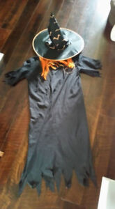 Childrens/Teenagers Witch Costume, Large Size