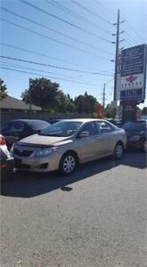 2009 Toyota Corolla LE Sedan!! 188kms!! 4CYL, AUTO ! CERTIFIED!!