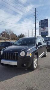 !2007 Jeep Compass Limited !! LOW ONLY 101KMS!! 4X4!! CERTIFIED!