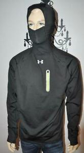 UNDER ARMOUR ALL SEASON RUNNING hodded SHIRT MEDIUM