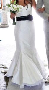 Silk Chantung Custom Wedding Dress