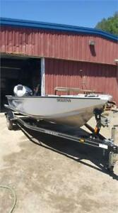 VERY NICE NEW STARCRAFT FISHING BOAT WITH A 40HP VERY LOW KMS