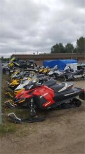 LARGE VARIETY OF USED, NON CURRENT, AND DEMO SNOWMOBILES
