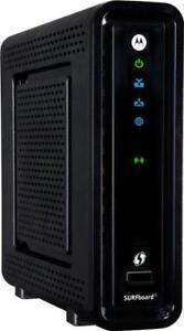 NEW Motorola SBG6580 MODEM/ROUTER DOCSIS 3.0 for TekSavvy Vmedia