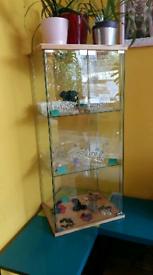 Glass display cabinate