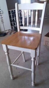 Kitchen chair for high table
