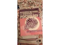 4th edition paperback Research Methods and Statistics in Psychology by Hugh Coolican