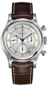 NEW LONGINES HERITAGE 1951AUTO CHRONO L27454730 LIMITED EDITION