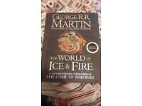 The World of Ice and Fire Hardcover. Great condition.