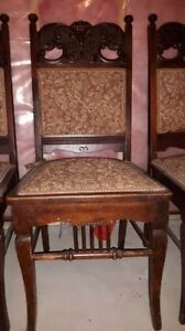 Antique dining chairs set of 6 Cornwall Ontario image 3