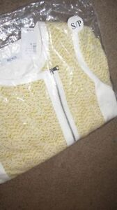 REDUCED Size Small - Printed Knit Moto Blazer (NEW) London Ontario image 4