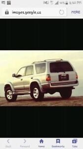 (Wanted)1997-2002 Toyota 4Runner SUV, Crossover