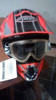 (2 x) Casque VTT / Motocross Gmax 36X