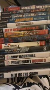 PS2 PS3 Wii Games (ask for prices)
