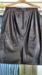 Genuine Leather Skirt size 12 OBO Cornwall Ontario image 2