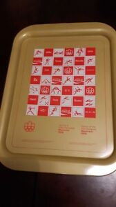 COCA - COLA   COLLECTIBLE  TRAY'S  SET of  4  FOR SALE