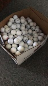 Selling USED gold balls for Big Brothers Big Sisters