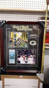GREENBAY PACKERS FRAMED PICTURE 2011 CHAMPIONSHIP
