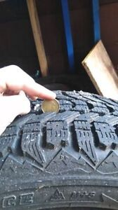 """16"""" steel rims and winter tires"""