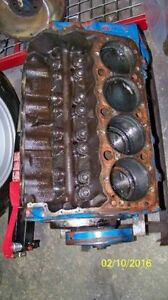 Chevy small block 400 short block