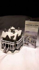 Currier & Ives Christmas Village Porcelain House for sale Kitchener / Waterloo Kitchener Area image 1