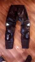 Leather Race Pants