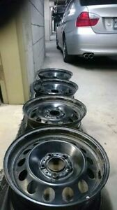 Bmw steelies in good condition