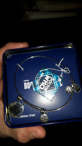 Doctor Who charm braclet in metal case