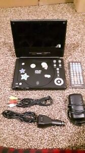 "Digitech 7"" portable DVD player"