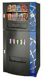 Combo: cold beverage \ snack vendor (20 select) with warranty !