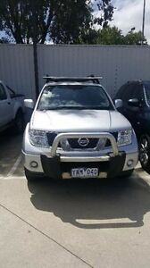 2011 Nissan Navara D40 MY11 ST Silver 5 Speed Automatic Utility Berwick Casey Area Preview