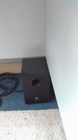 logic speakers and bass