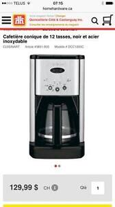 cafetiere cuisinart programmable