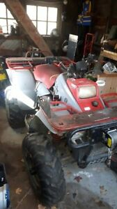 1992 Polaris 350 4-Wheeler with winch